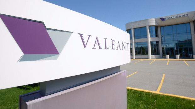 The head office of Valeant Pharmaceuticals
