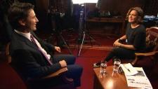 Justin Trudeau and Lisa LaFlamme