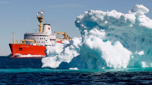 Canadian Coast Guard icebreaker Louis S. St-Lauren