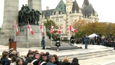 Ottawa shooting ceremony