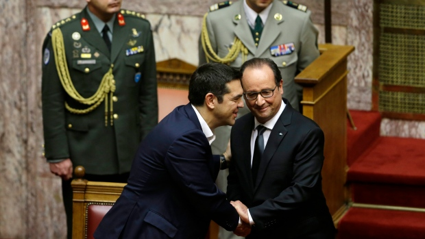 Francois Illas New Tradition: French President Hollande Backs Greek Call For Debt Relief