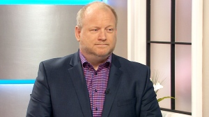 Former aide to Rob, Ford Mark Towhey, speaks with CTV's Canada AM in Toronto on Friday, Oct. 23, 2015.