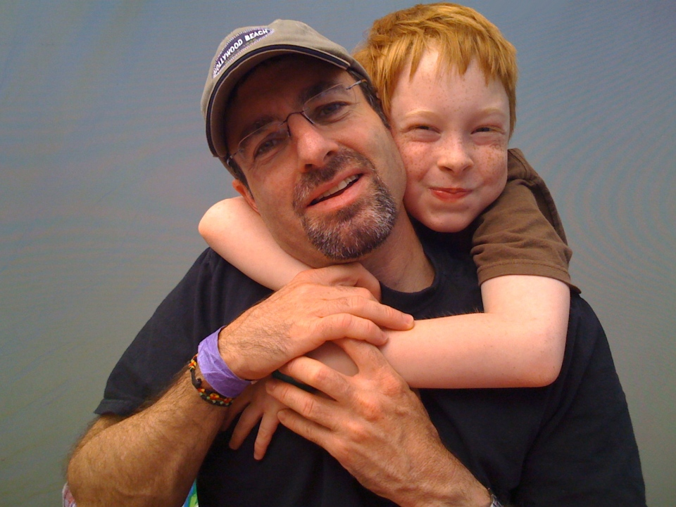 Larry Zeligson and his son Ben - when he was 9-years-old - are pictured in this family photo made available to CTV's W5.
