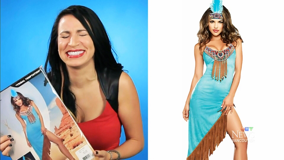First Nations Halloween Costume  sc 1 st  CTV News & Advocates urge party-goers to avoid u0027racistu0027 First Nations costumes ...