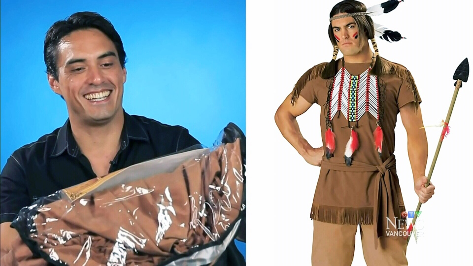 First Nations male Halloween costume  sc 1 st  CTV News & Advocates urge party-goers to avoid u0027racistu0027 First Nations costumes ...