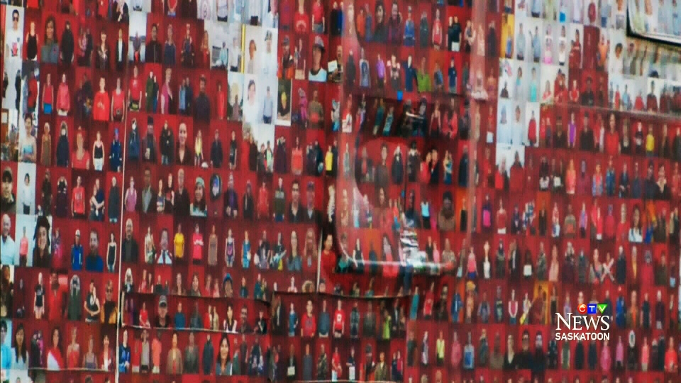 The Canadian Mosaic project uses tens of thousands of photos of Canadians to create one united image of the country's flag.