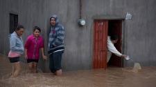Hurricane Patricia makes landfall in Mexico