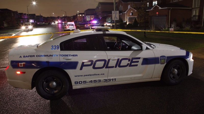 A Peel police cruiser is seen in this undated file photograph. (CP24/Tom Podolec)