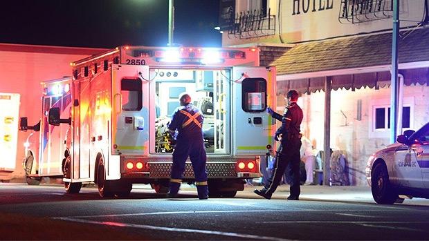Fatal stabbing near Grande Prairie
