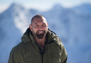 U.S. actor Dave Bautista (AFP/Joe Klamar)