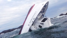 Whale boat sinking in Tofino