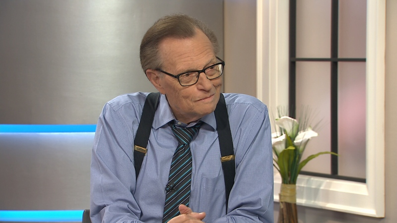 Canada AM: Larry king on heart health