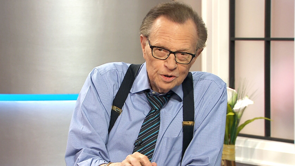 Larry King speaks to CTV's Canada AM, Oct. 26, 2015.