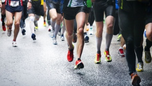 Racers at a marathon (Mikael Damkier/shutterstock.com)