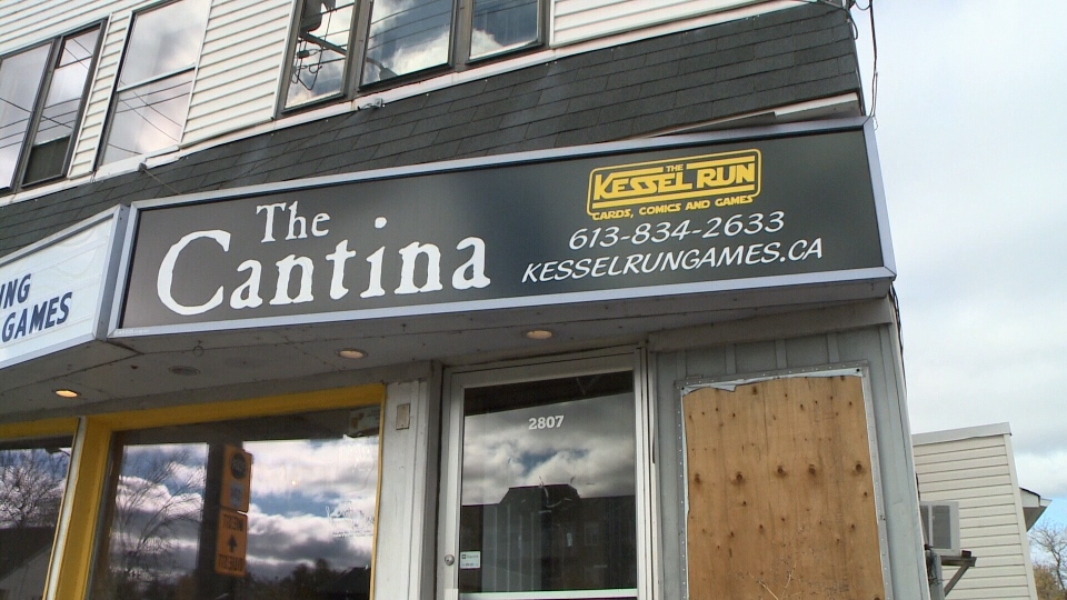 The Cantina, a Star Wars-themed bar, opened its doors in Ottawa last Saturday.