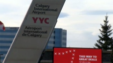 A man died after he was involved in an altercation with CBSA officers at the Calgary airport. (File)