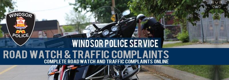 Windsor police launch online reporting for road and traffic complaints. (Courtesy Windsor police)
