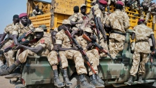 Troops in South Sudan