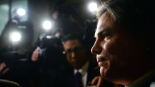 Brazeau smiles after being discharged