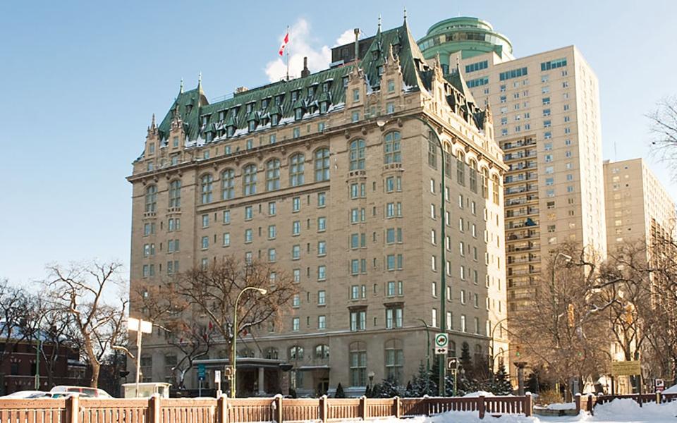Room  Fort Garry Hotel Winnipeg