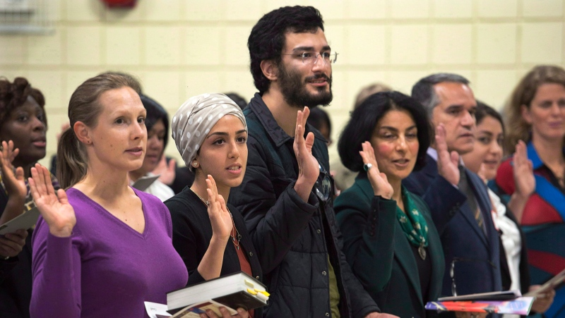 Canadian citizenship oath could help newcomers learn more about Indigenous people thumbnail