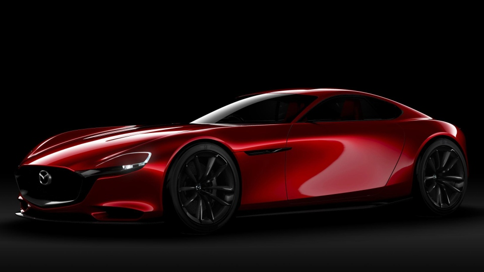 mazda s rx vision concept features all new rotary engine ctv news Traditional Rotary Engine the mazda rx vision concept car is powered by a next generation rotary engine mazda