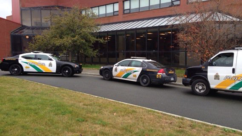 Cape Breton University was on lockdown Thursday as police investigated an alleged threat.