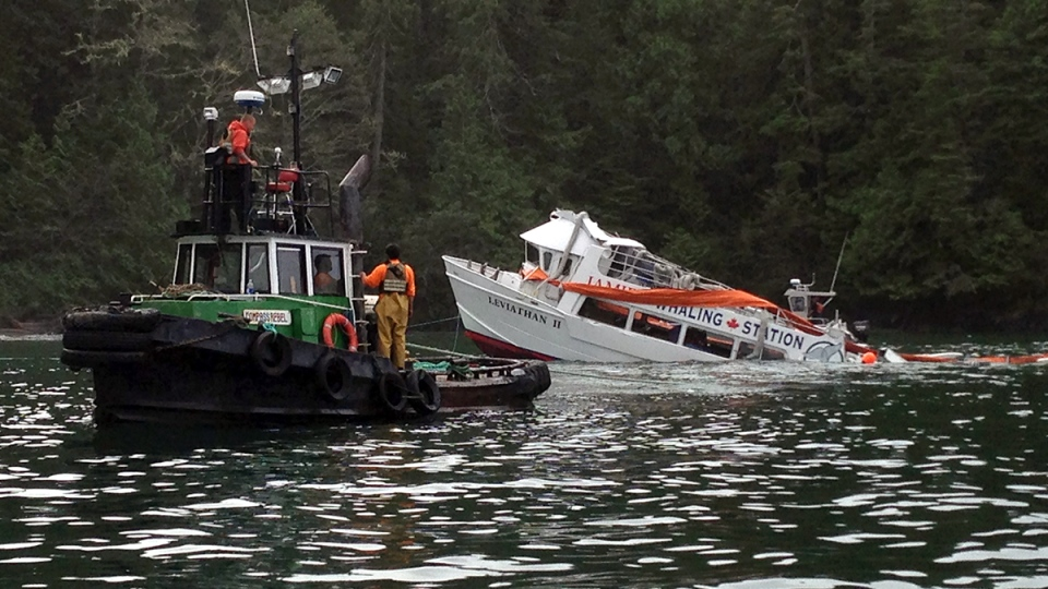 Tofino Whale Watching Ship Had Passed Stability Test