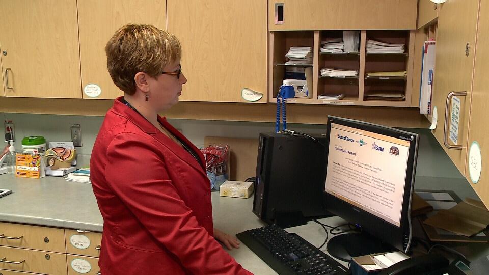 Dr. Kari Sampsel at The Ottawa Hospital