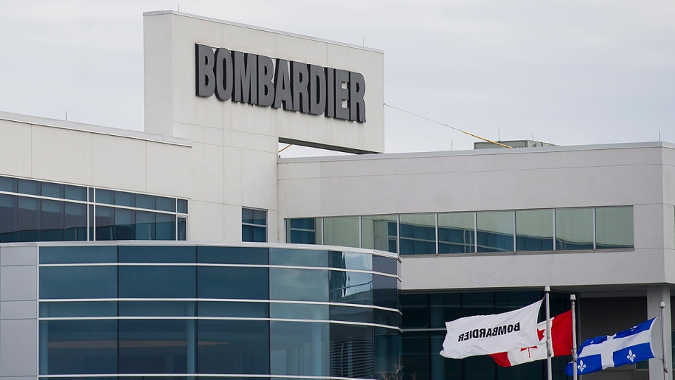 A Bombardier plant is shown in Montreal, Thursday, Oct. 29, 2015. (Graham Hughes  / THE CANADIAN PRESS)