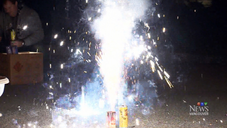 Halloween fireworks are seen in this file photo. (CTV)