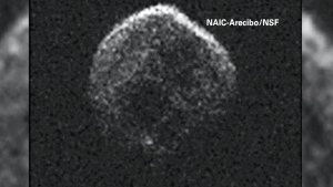 CTV National News: Asteroid close call