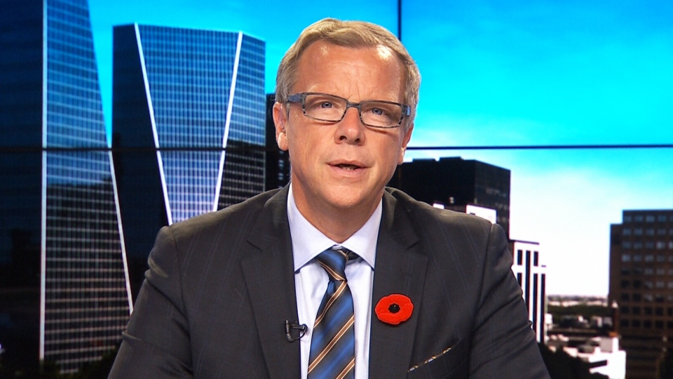 Saskatchewan Premier Brad Wall speaks with CTV's Question Period on Nov. 1, 2015.