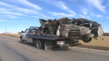 Fatal crash in Edmonton