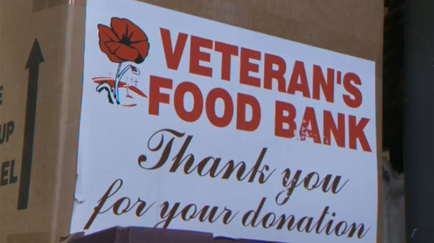 Image result for veteran food bank pictures