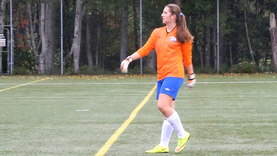 14-year-old B.C. soccer player Freyja Reed was booted for speaking out against her team's sponsor.