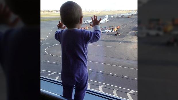 Ten-month-old Darina Gromova