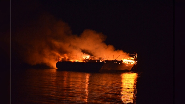 boat fires
