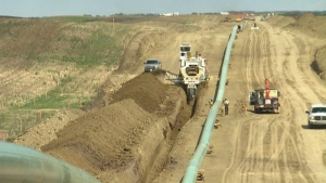 TC Energy confirmed Tuesday that 'staffing changes' have been made in its Canada Gas Operations & Projects team (file)