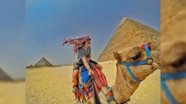 [Carlos Erik Malpica Flores]: Travel to Egypt