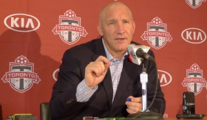 New Toronto FC president Bill Manning attends an end-of-season news conference in Toronto on Nov.3, 2015. (Neil Davidson / The Canadian Press)