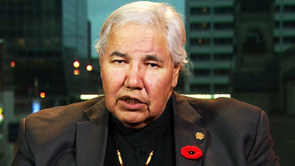 Truth and Reconciliation Commission Chair Murray Sinclair appears on CTV Power Play, on Tuesday, Nov. 3, 2015.