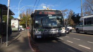 The bus did not have CCTV cameras on board. (CTV Vancouver Island)