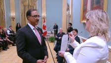 Amarjeet Sohi swearing-in