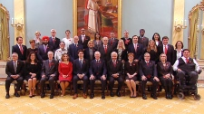 Justin Trudeau and new cabinet