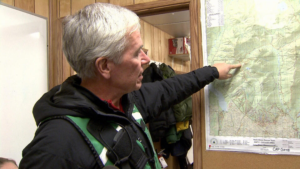 North Shore Search and Rescue team leader Allan McMordie said the two hikers were not well-prepared.