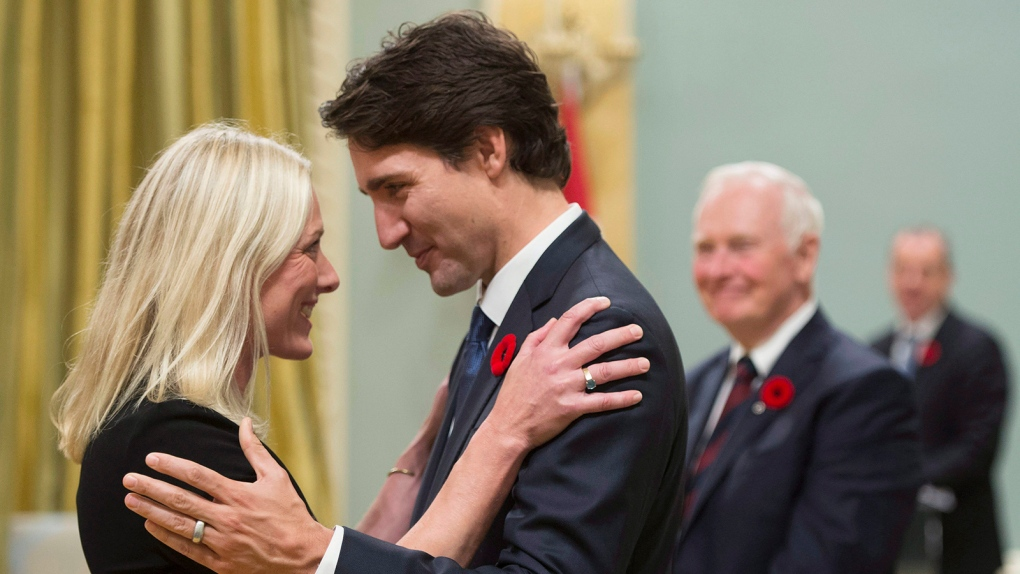 Prime Minister Justin Trudeau unveils members of his new cabinet