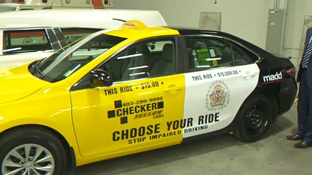 Police Car Auction Toronto >> Project Red Ribbon reminds people not to drink and drive   CTV Calgary News