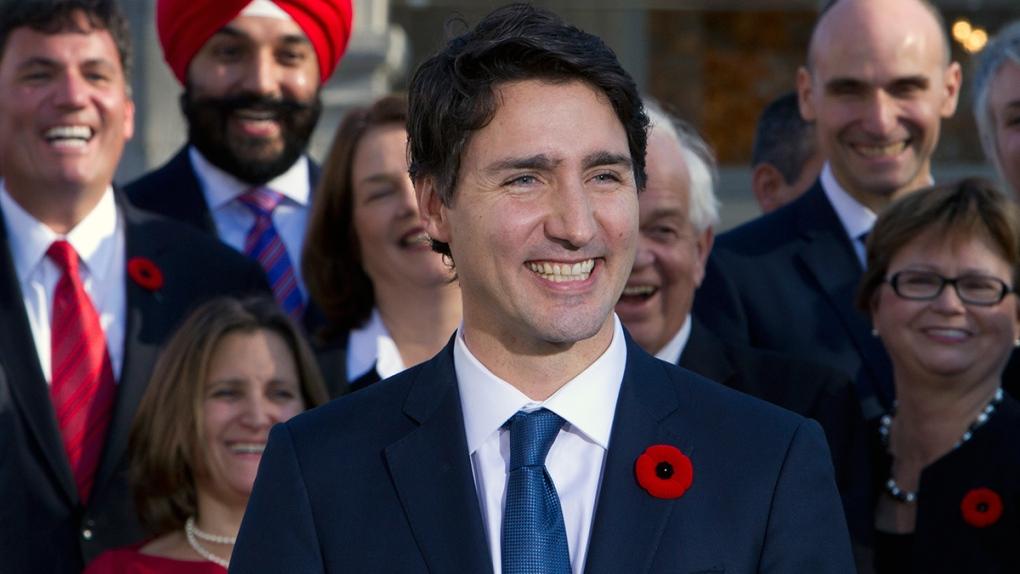 Prime Minister Justin Trudeau's new cabinet