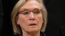 Minister Carolyn Bennett is sworn in